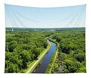 Aerial View Of Vegetation On Landscape Tapestry