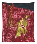 After Billy Childish Painting Otd 7 Tapestry