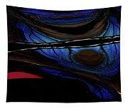 Aile De Papillon Bleu Tapestry