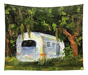 Air Stream Stop Tapestry