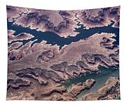 Air View Of The Colorado River Tapestry