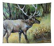 Alaska Elk Tapestry