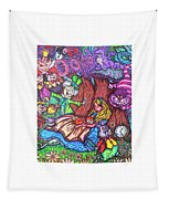 Alice In Wonderland  Tapestry
