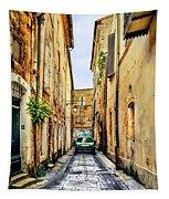 Alley In Avignon Tapestry