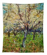 Almond Orchard Tapestry