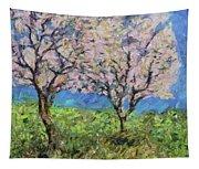 Almonds In Full Bloom Tapestry