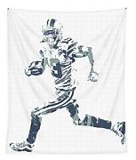 Amari Cooper Dallas Cowboys Pixel Art 3 Tapestry