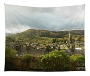Ambleside Rooftops In The Lake District National Park Tapestry