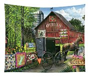 Amish Quilts Tapestry