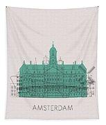 Amsterdam Landmarks Tapestry