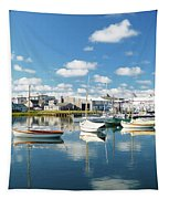 An Idyllic Boating Day Tapestry