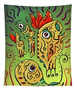 Ancient Spirit Tapestry by Sotuland Art