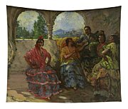 Andalucian Dancers  Tapestry