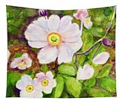 Anemones Birthday Card Tapestry