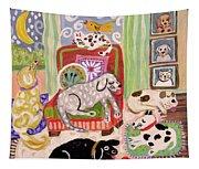 Animal Family 1 Tapestry