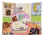 Animal Family 2 Tapestry
