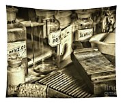 Apothecary-vintage Pill Maker Sepia Tapestry