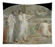 Apparition Of Saint Didacus Above His Sepulchre  Tapestry