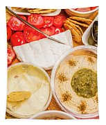 Appetizers Delight Tapestry