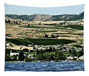 Apple Farming On The Hills Of Wenatchee Tapestry