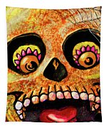 Aranas Sugarskull Of Spiders Tapestry