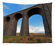 Arches And Piers Of The Ribblehead Viaduct North Yorkshire Tapestry