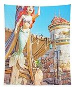 Ariel, The Little Mermaid, Walt Disney World Tapestry