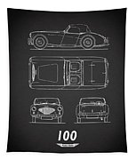 The Austin-healey 100 Tapestry