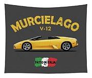 The Lamborghini Murcielago Tapestry