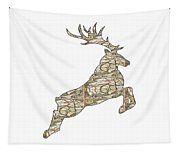 Reindeer - Holiday - North Pole Tapestry