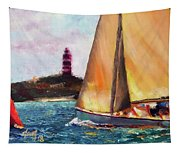 Abaco Rage On The Mark Tapestry