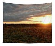 Mount Mansfield September Sunrise Seven Tapestry