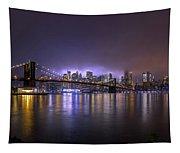 Bright Lights Of New York II Tapestry