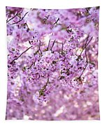 Cherry Blossom Flowers Tapestry