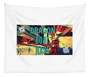 Dragon Boat Race Tapestry