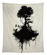 Last Tree Standing Tapestry by Nicklas Gustafsson