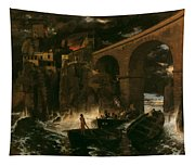 Attack By Pirates Tapestry