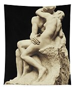Auguste Rodin The Kiss, 1886 Marble Sculpture Tapestry