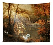 Autumn Afterglow Tapestry