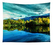 Autumn Beauty Lakeside Tapestry