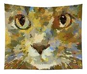 Autumn Cat Tapestry