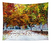 Autumn Trees Tapestry