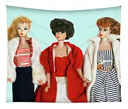 Baby It's Cold Outside Barbies Tapestry