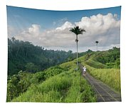 Bali Pathway Tapestry
