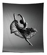 Ballerina Jumping Tapestry