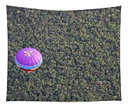 Balloon Over Forest Tapestry