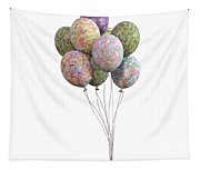 Balloons Classic Floral Tapestry