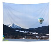 Balloons Over Tegernsee Tapestry