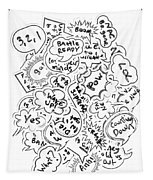 Banter Bubbles From A Comic Creation Tapestry
