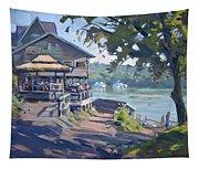 Bar At Lewiston Tapestry